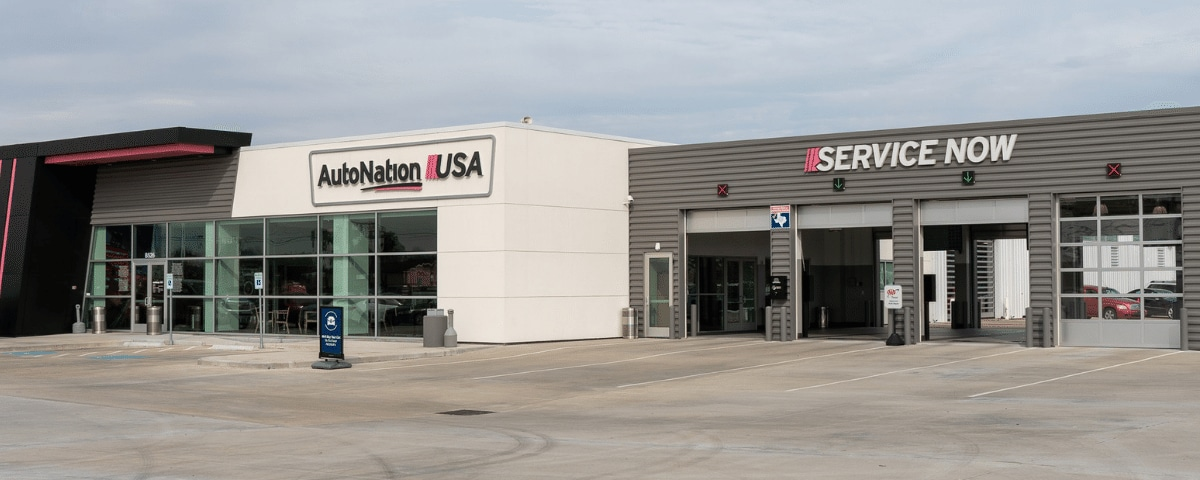 AutoNation USA Houston Service Center exterior