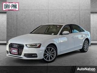 Used 2016 Audi A4 2.0T Premium (Multitronic) Sedan
