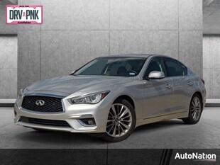 2018 INFINITI Q50 3.0t Luxe 4dr Car