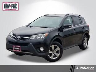 2015 Toyota RAV4 XLE Sport Utility