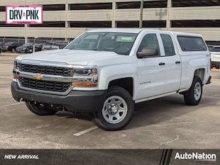 2017 Chevrolet Silverado 1500 Work Truck Extended Cab Pickup
