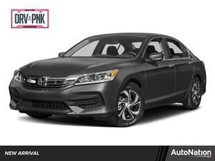 2017 Honda Accord Sedan LX 4dr Car