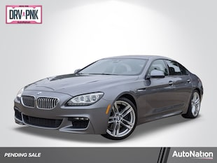 2015 BMW 6 Series 650i 4dr Car