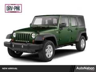 2010 Jeep Wrangler Unlimited Sahara Sport Utility