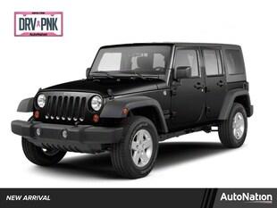 2011 Jeep Wrangler Unlimited Sahara Sport Utility