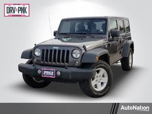 2018 Jeep Wrangler JK Unlimited Sport S Sport Utility