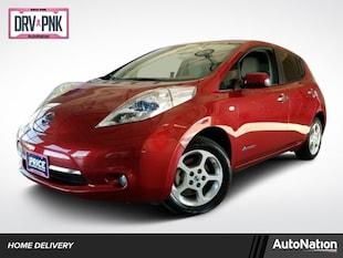 2011 Nissan Leaf SL w/Cold Weather Pkg 4dr Car