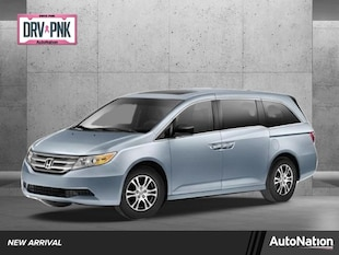 2012 Honda Odyssey EX-L Mini-van Passenger