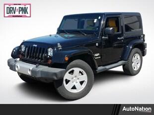 2012 Jeep Wrangler Sahara Sport Utility