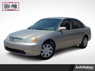 2001 Honda Civic Sedan EX 4dr Car