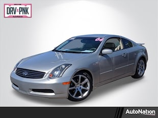 2004 INFINITI G35 Coupe w/Leather 2dr Car