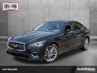 2021 INFINITI Q50 3.0t Luxe 4dr Car