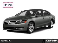2015 Volkswagen Passat 1.8T Wolfsburg Edition w/PZEV Sedan