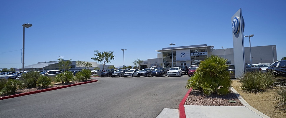 Exterior view of Volkswagen Serving Spring Valley