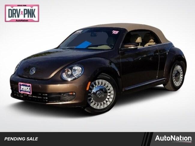 2015 Volkswagen Beetle Convertible 1.8T w/Technology/PZEV Convertible