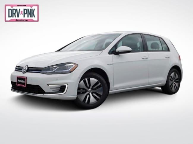 2019 Volkswagen e-Golf SEL Premium Hatchback