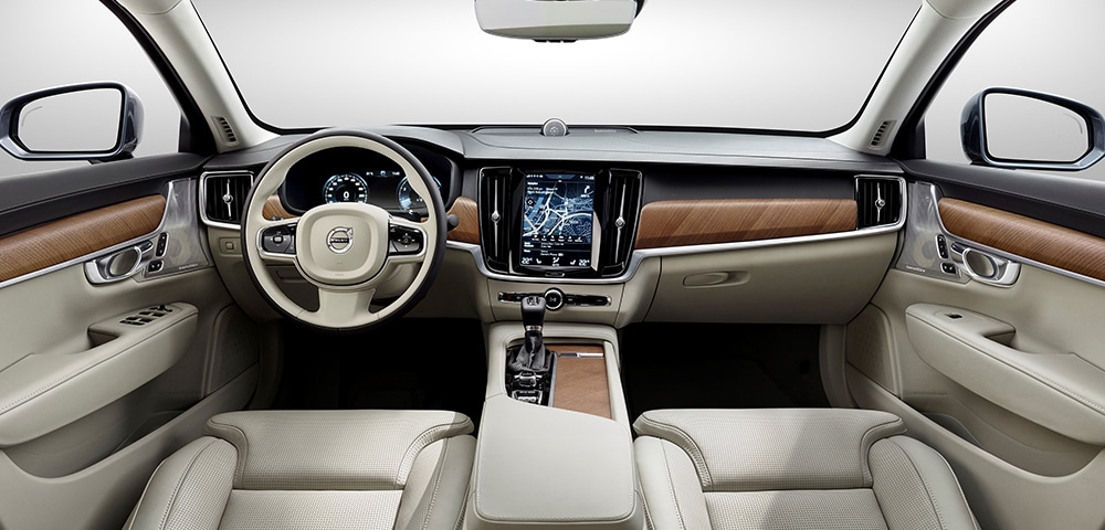Interior photo 2018 Volvo S90