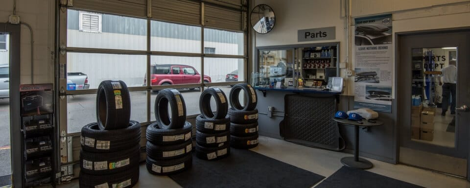 AutoNation Volvo Cars Bellevue parts department