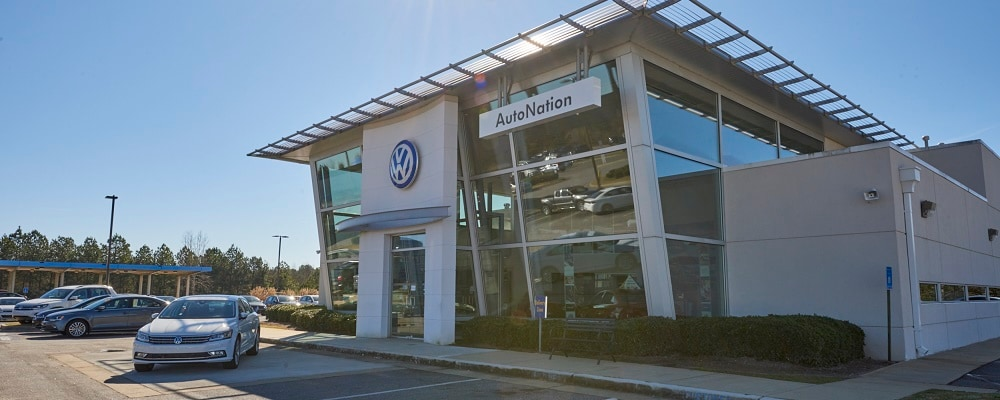 View of AutoNation VW Columbus in the LaGrange area