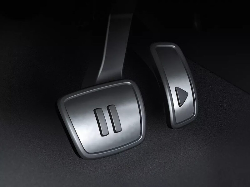 VW ID.4 pedals