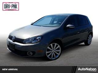 2012 Volkswagen Golf TDI 4-door w/Tech Package (M6) Hatchback
