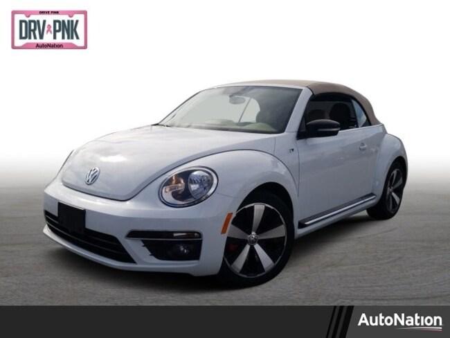 2015 Volkswagen Beetle Convertible 2.0T R-Line w/Sound/PZEV Convertible