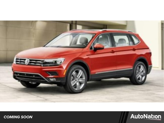 2019 Volkswagen Tiguan 2.0T SEL R-Line Jet-Black SUV