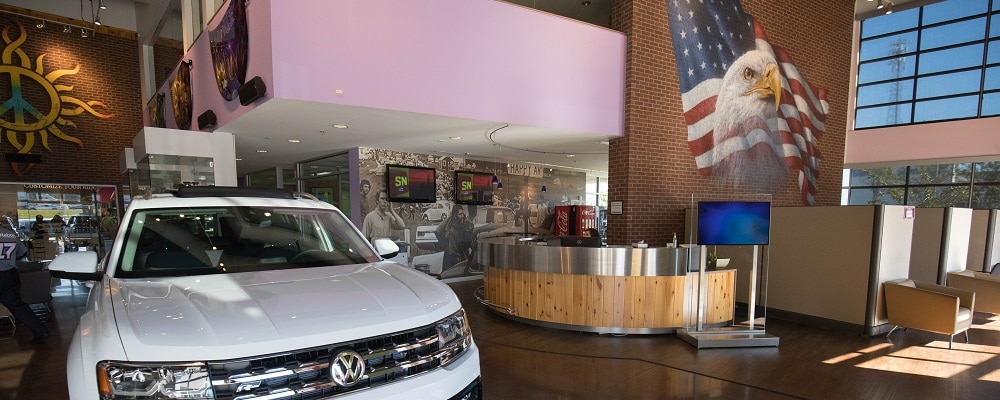 Autonation Vw Mall Of Georgia Finance Center Buford Ga