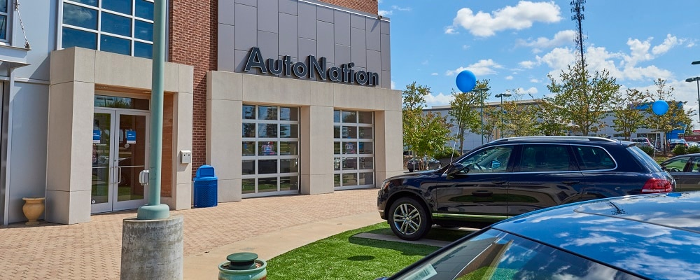 View of AutoNation VW Mall of Georgia in the Johns Creek area