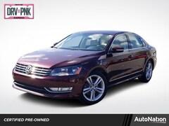 2013 Volkswagen Passat TDI SE w/Sunroof & Nav Sedan