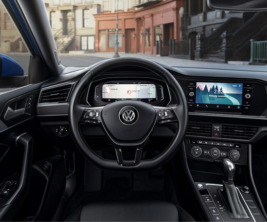 A peek inside the all-new 2019 Volkswagen Jetta