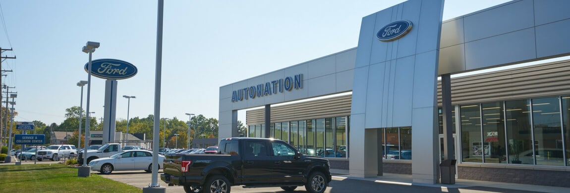 Exterior view of AutoNation Ford Westlake