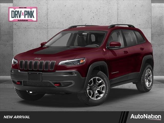 Used 2020 Jeep Cherokee Trailhawk with VIN 1C4PJMBX0LD654507 for sale in White Bear Lake, Minnesota