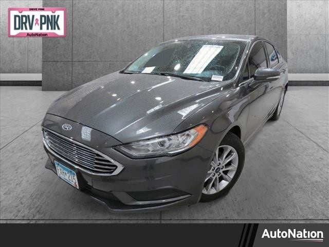 Used 2017 Ford Fusion SE with VIN 3FA6P0HD9HR298515 for sale in White Bear Lake, Minnesota