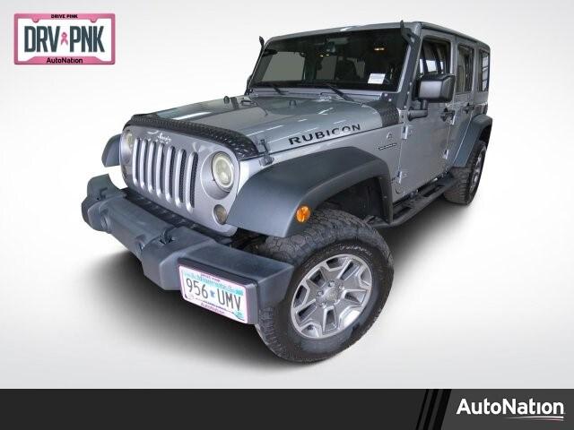 2016 Jeep Wrangler JK Unlimited Rubicon SUV
