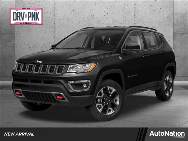 Used 2019 Jeep All-New Compass Trailhawk with VIN 3C4NJDDB1KT732990 for sale in White Bear Lake, Minnesota