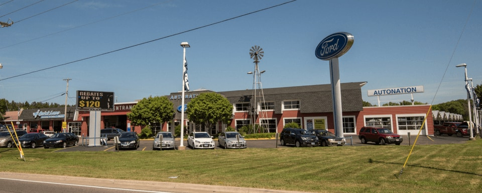 Street view of AutoNation Ford White Bear Lake