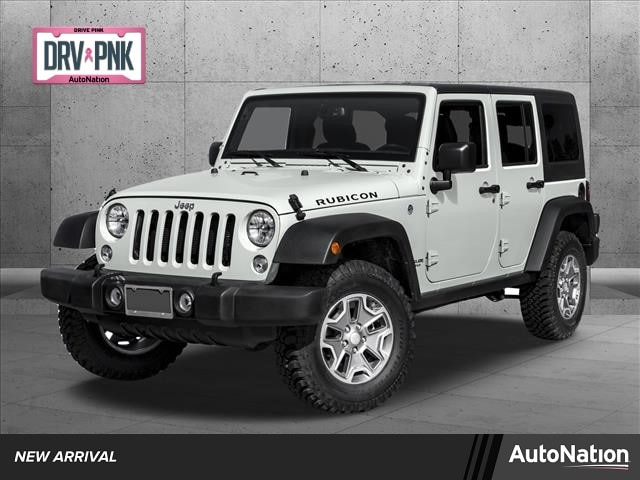 Used 2016 Jeep Wrangler Unlimited Rubicon Hard Rock with VIN 1C4BJWFGXGL224916 for sale in White Bear Lake, Minnesota