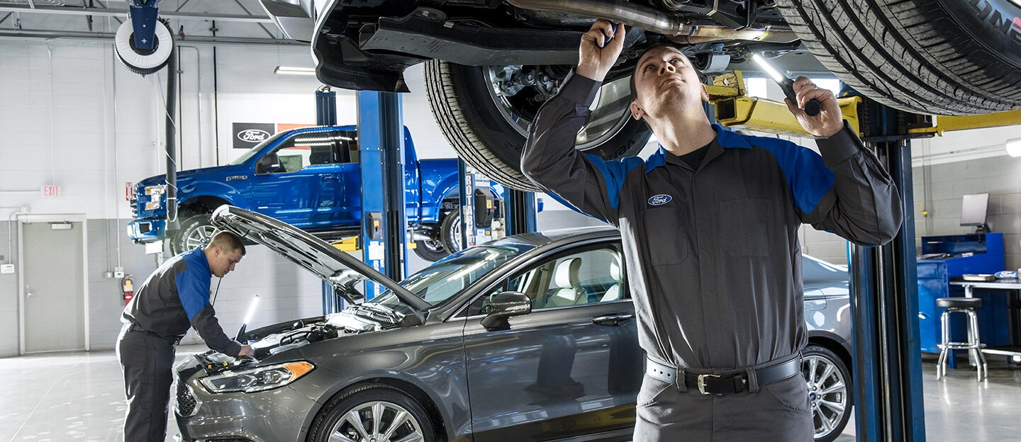AutoNation Ford Union City service