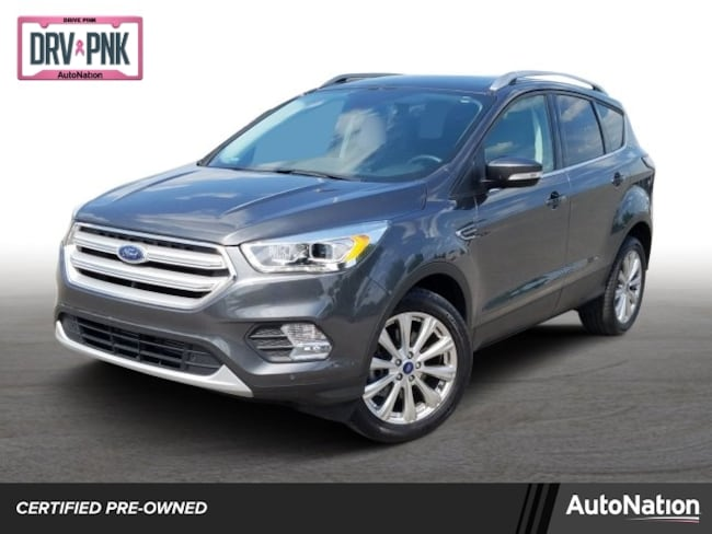 2018 Ford Escape Titanium Sport Utility