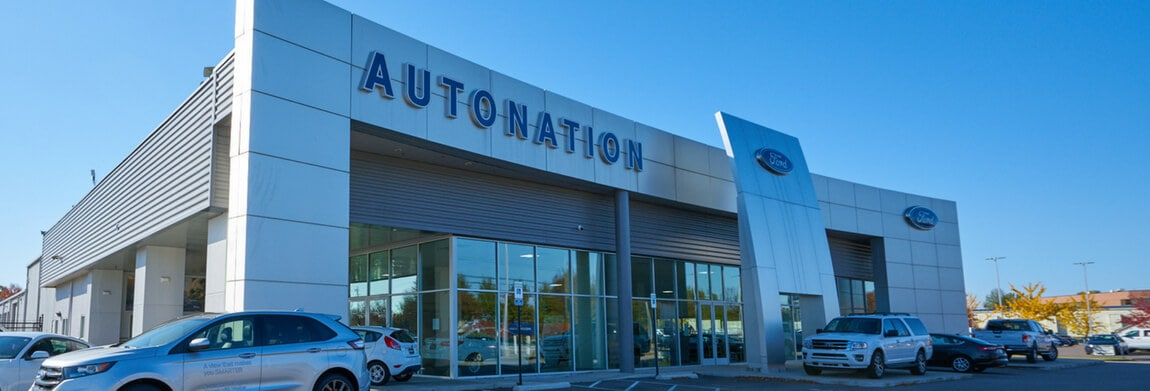 Exterior view of AutoNation Ford Wolfchase