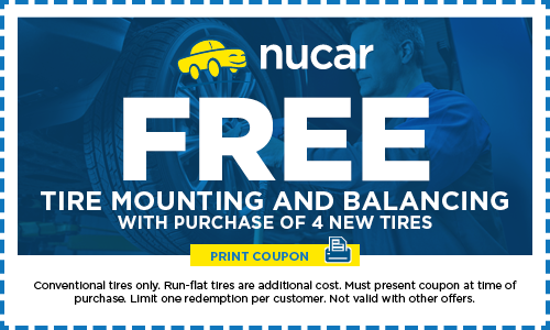 Free Tire Mounting & Balancing