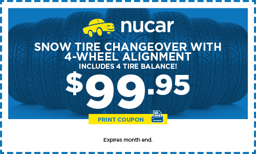 Snow Tire Changeover W/ 4-Wheel Alignment