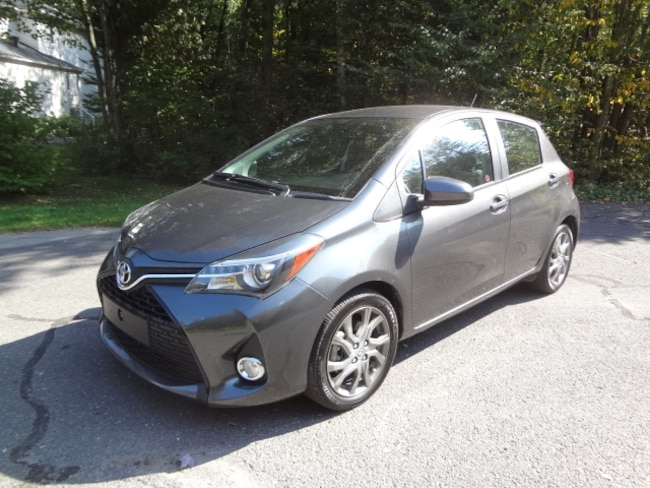 2015 Toyota Yaris SE 21264 Km !!! À hayon