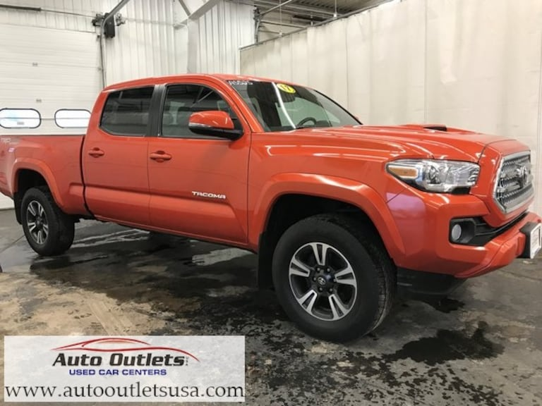 Used 2017 Toyota Tacoma TRD Sport Truck