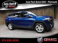New 2019 GMC Terrain SLE SUV 3GKALMEV0KL350018 for Sale in Plymouth, IN at Auto Park Buick GMC