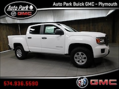 New 2019 GMC Canyon Base Truck Crew Cab 1GTG5BEN0K1321467 for Sale in Plymouth, IN at Auto Park Buick GMC