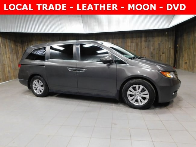 Used 2015 Honda Odyssey EX-L Van for Sale in Plymouth, IN at Auto Park Buick GMC