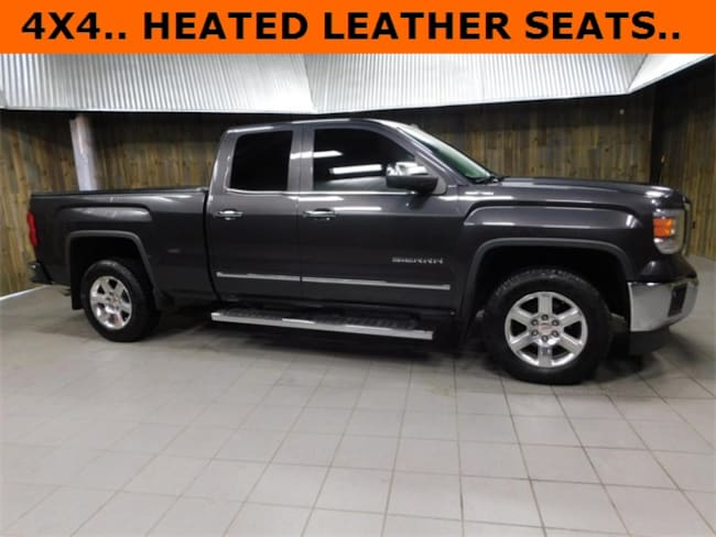 Used 2014 GMC Sierra 1500 SLT Truck Double Cab for Sale in Plymouth, IN at Auto Park Buick GMC