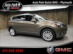 New 2019 Buick Envision Premium I SUV LRBFX3SXXKD094044 for Sale in Plymouth, IN at Auto Park Buick GMC